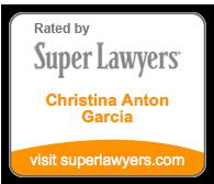 Super Lawyers Christina Anton Garcia