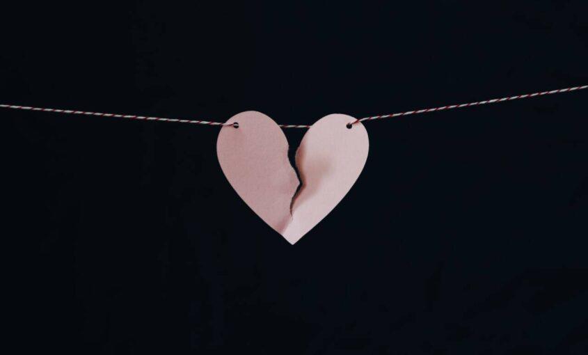 heart on string