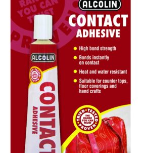 Alcolin Solvent Based Contact Glue. For sale at Farmability