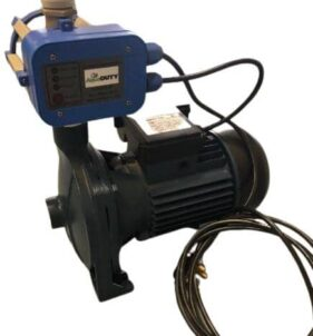 AquaDuty Irrigation Pump with Pressure Control. For sale at Farmability