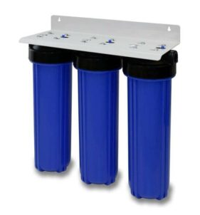 Big Blue 3-Stage Advanced Water Filter. For sale at Farmability