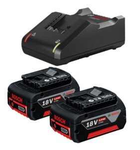 Bosch Batteries and Charger 18V 5.0Ah - FarmAbility