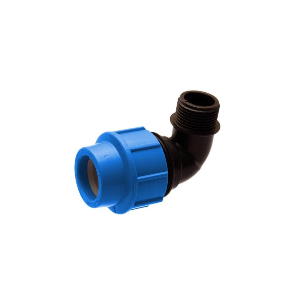 Irrigation Fittings - Male Elbow. For sale at Farmability South Africa