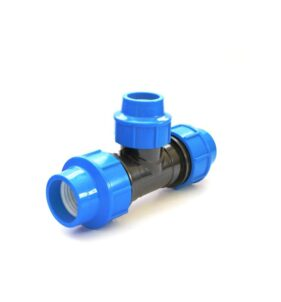 Irrigation Fittings - Reducing Tee Compression. For sale at FarmAbility South Africa
