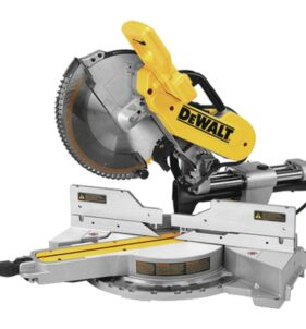 DeWalt Sliding Compound Miter Saw with XPS. For sale at FarmAbility South Africa