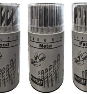 Martlet 18-Piece Combination Drill Bit Set for wood, steel and masonry. For sale at FarmAbility South Africa