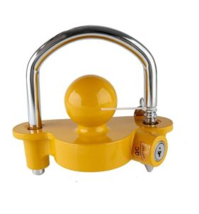Moto-Quip Trailer Lock with Keys. For sale at FarmAbility South Africa