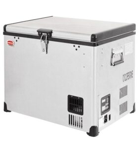 SnoMaster 40L Stainless Steel Fridge/Freezer AC/DC (SMDZ-CL40). For sale at FarmAbility south Africa
