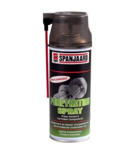 Spanjaard Non-Flammable Penetrating Automotive Spray. For sale at FarmAbility South Africa
