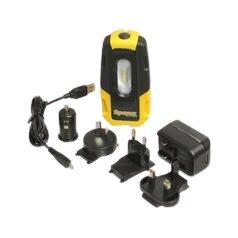 Sparex Rechargeable Inspection Lamp with Power Bank. For sale at FarmAbility South Africa