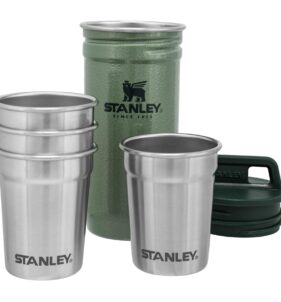 Stanley PMI Stainless Steel Shot Glass Set. For sale at FarmAbility South Africa