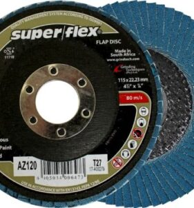 Superflex Zirconia Sanding Flap Disc – Industrial Quality. For sale at FarmAbility South Africa