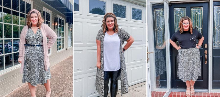 4 Ways to Wear a Midi Wrap Dress
