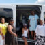 NEW residents with van purchased with MH grant