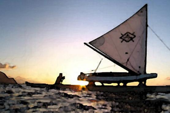 Traditional Hawaiian Sailing