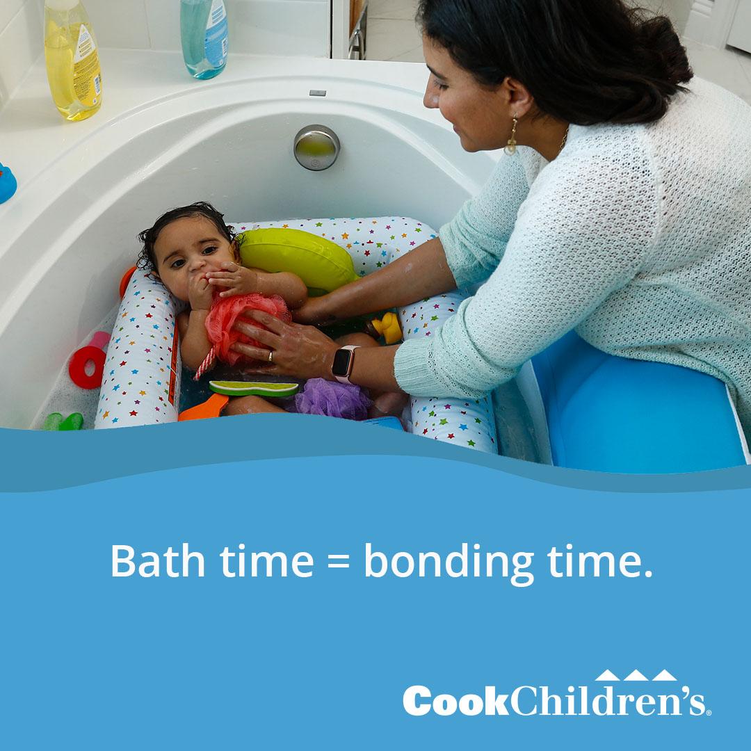 Bath time bonding