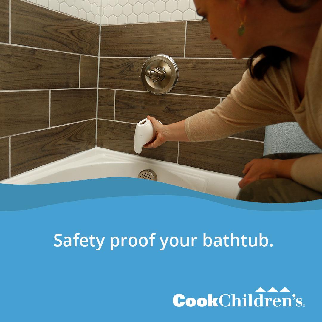 Safe proof bathroom