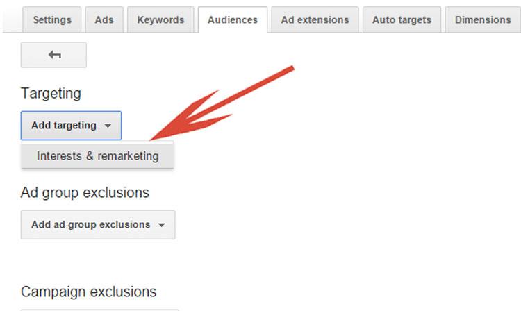 Google AdWords Interest & Remarketing