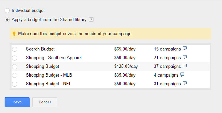Shared Library Popup Window