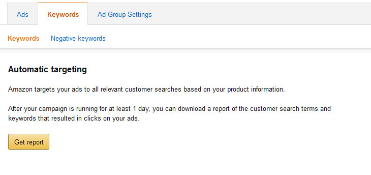 Amazon Seller Central Search Term Report