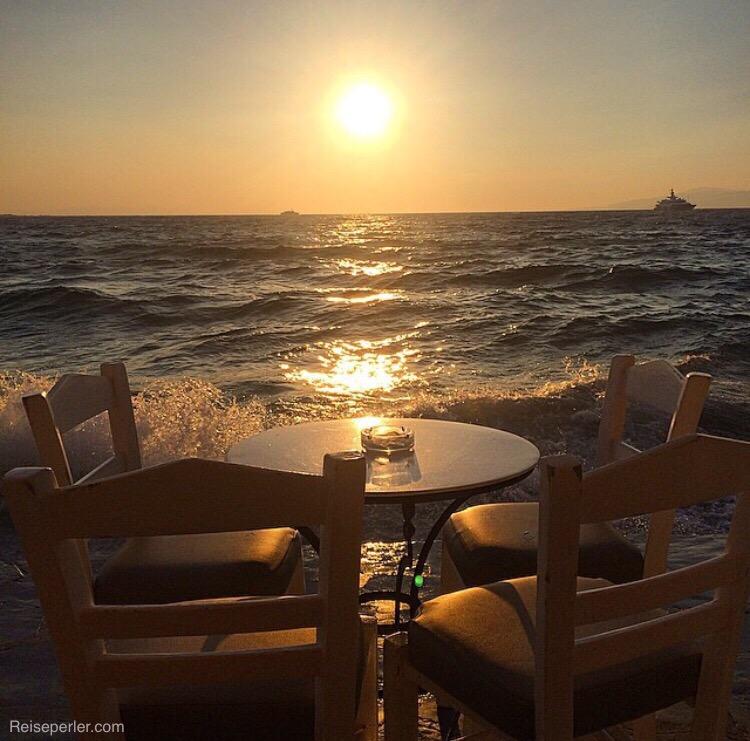 Restaurant tips i  Mykonos by.
