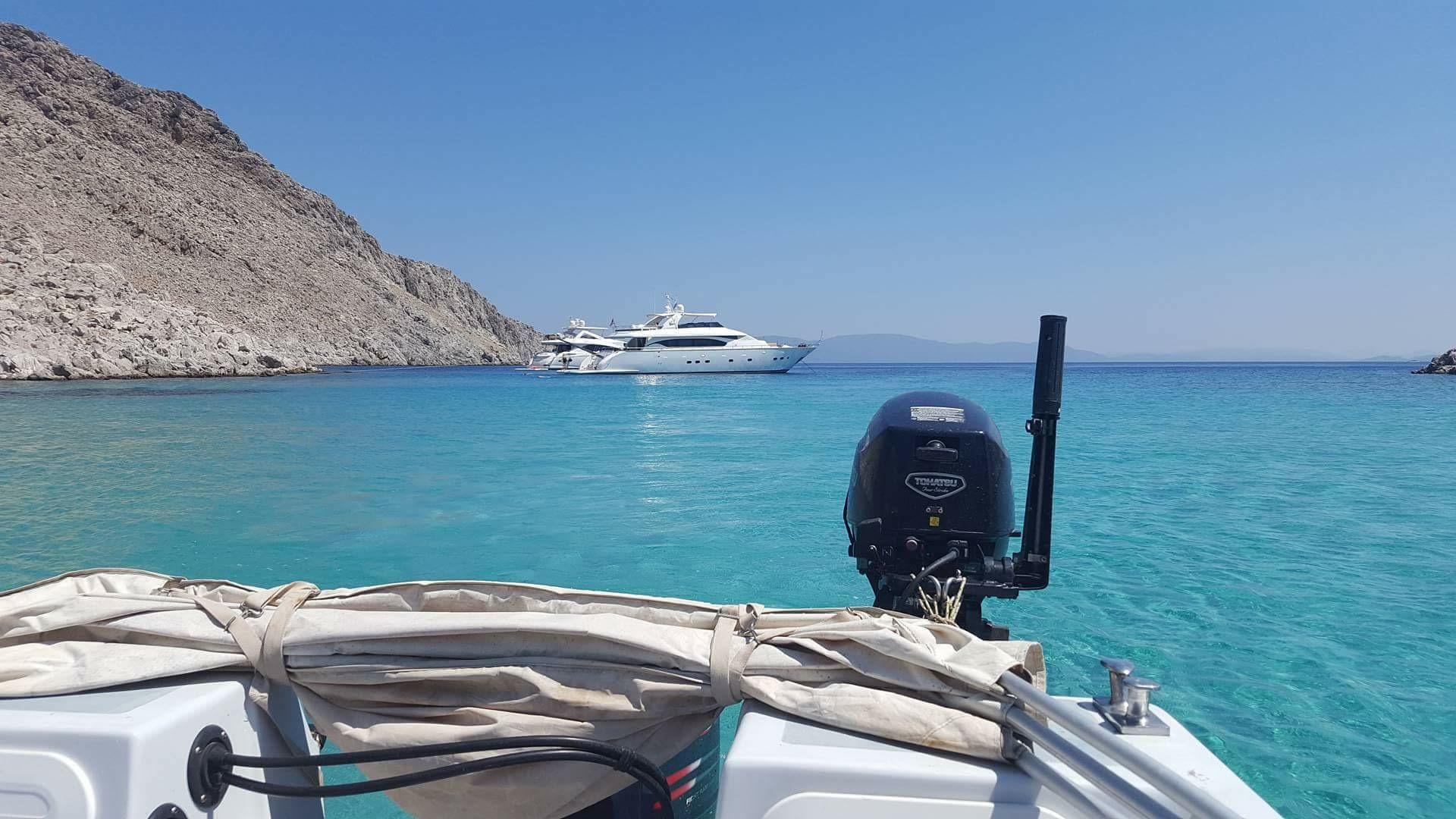 Symi Hellas vakreste øy?