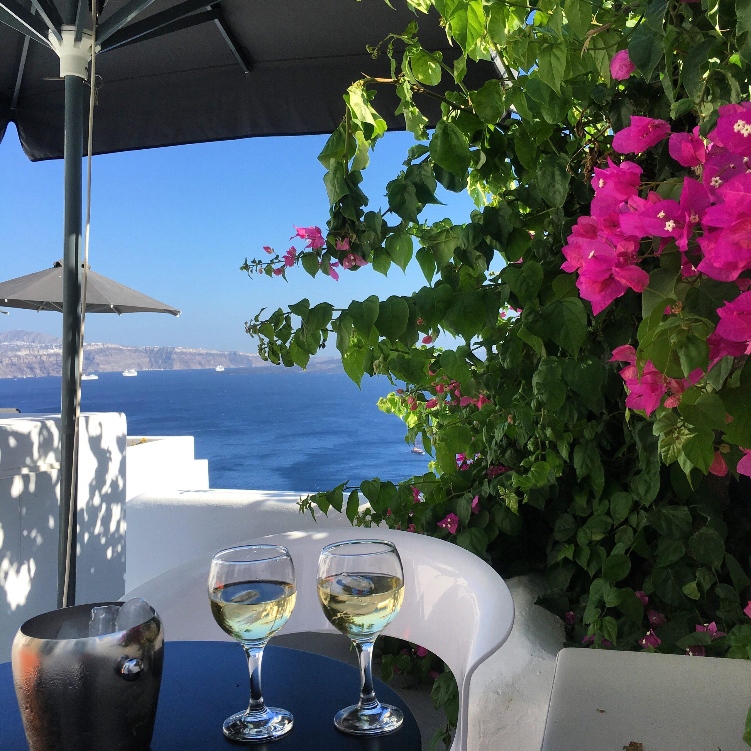 Paradis på jord i Oia Santorini.