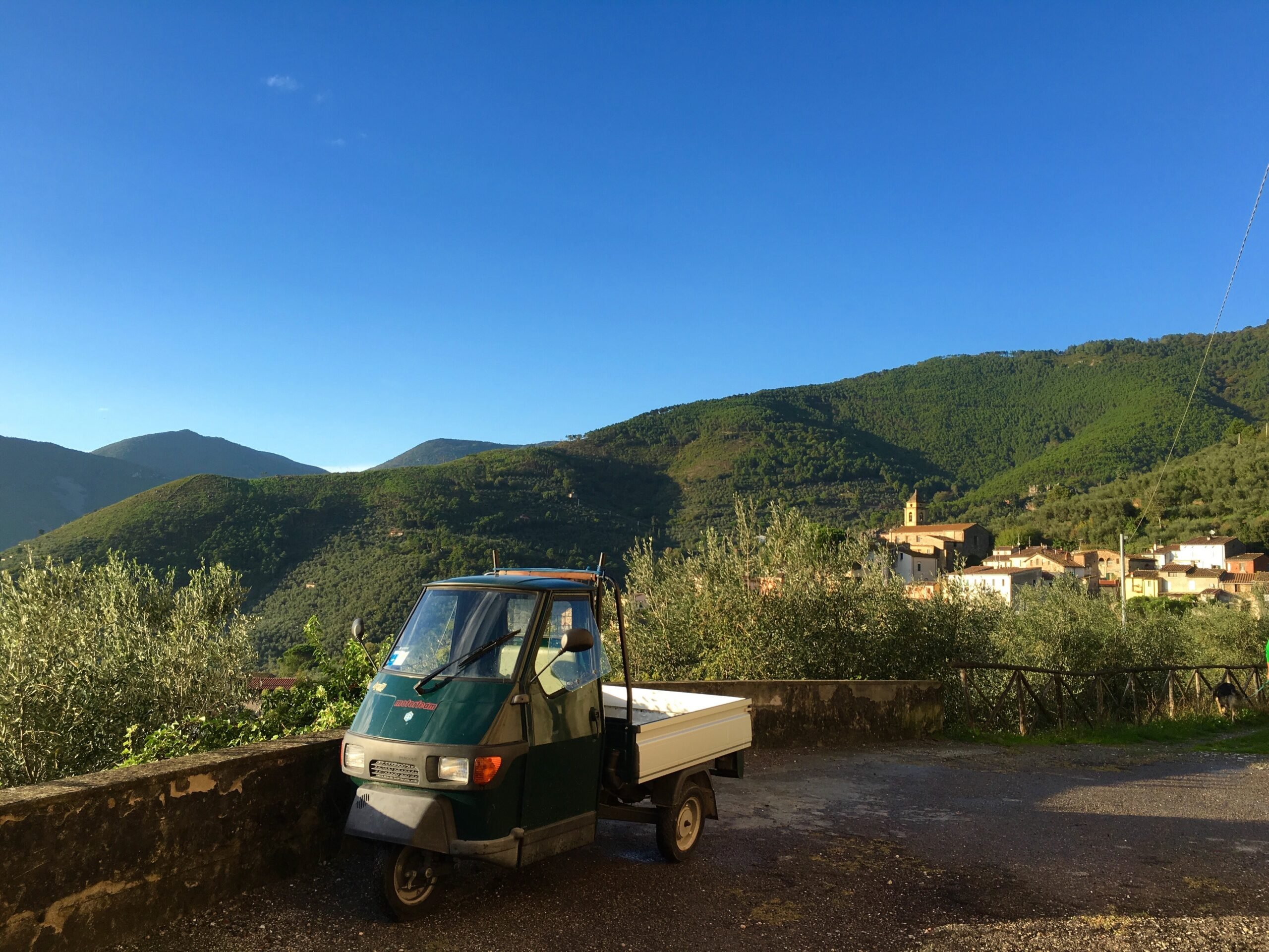 En annerledes morgen i Montemagno!