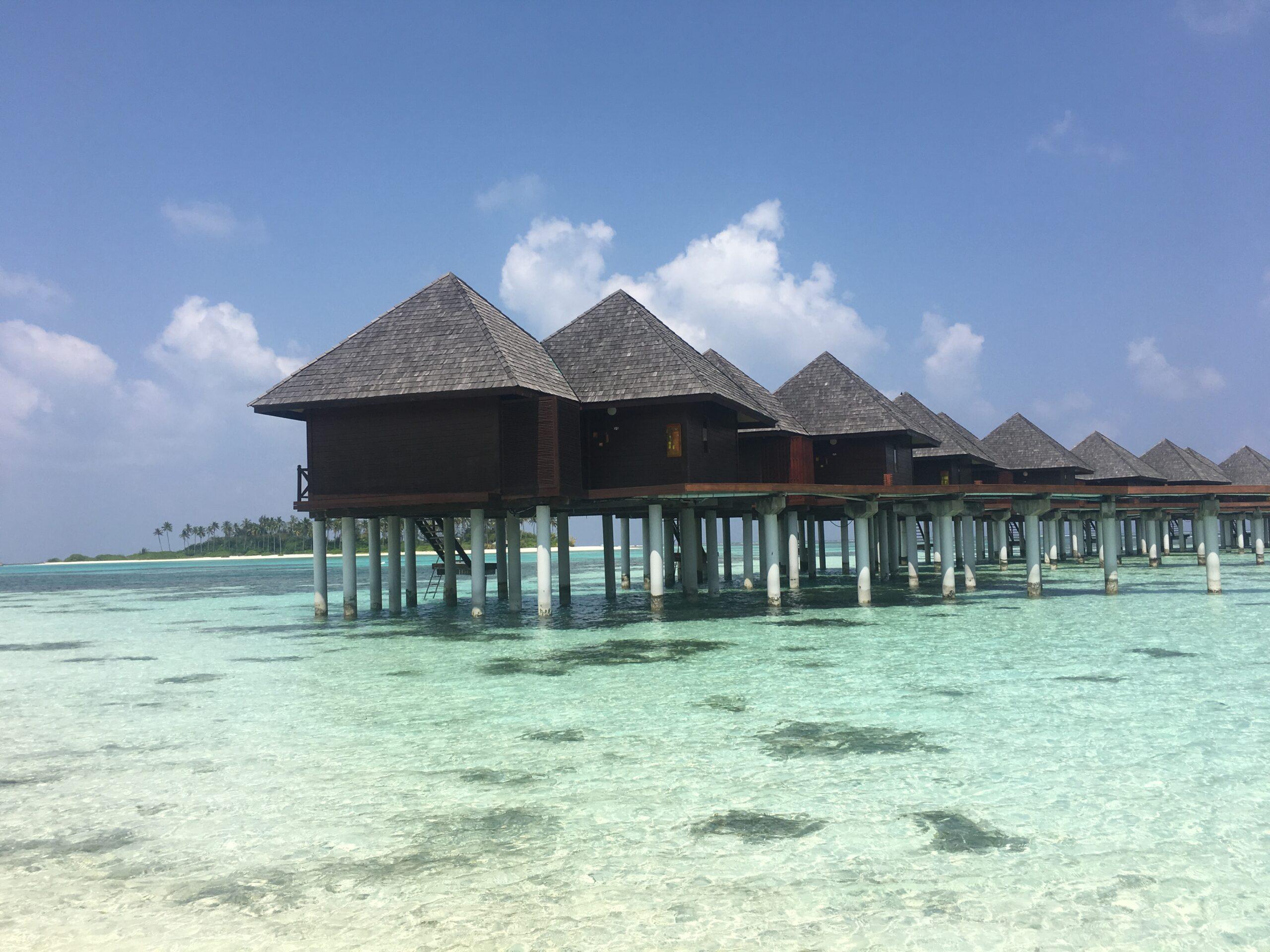 Olhuveli Beach & Spa Maldives et vakkert naturparadis.