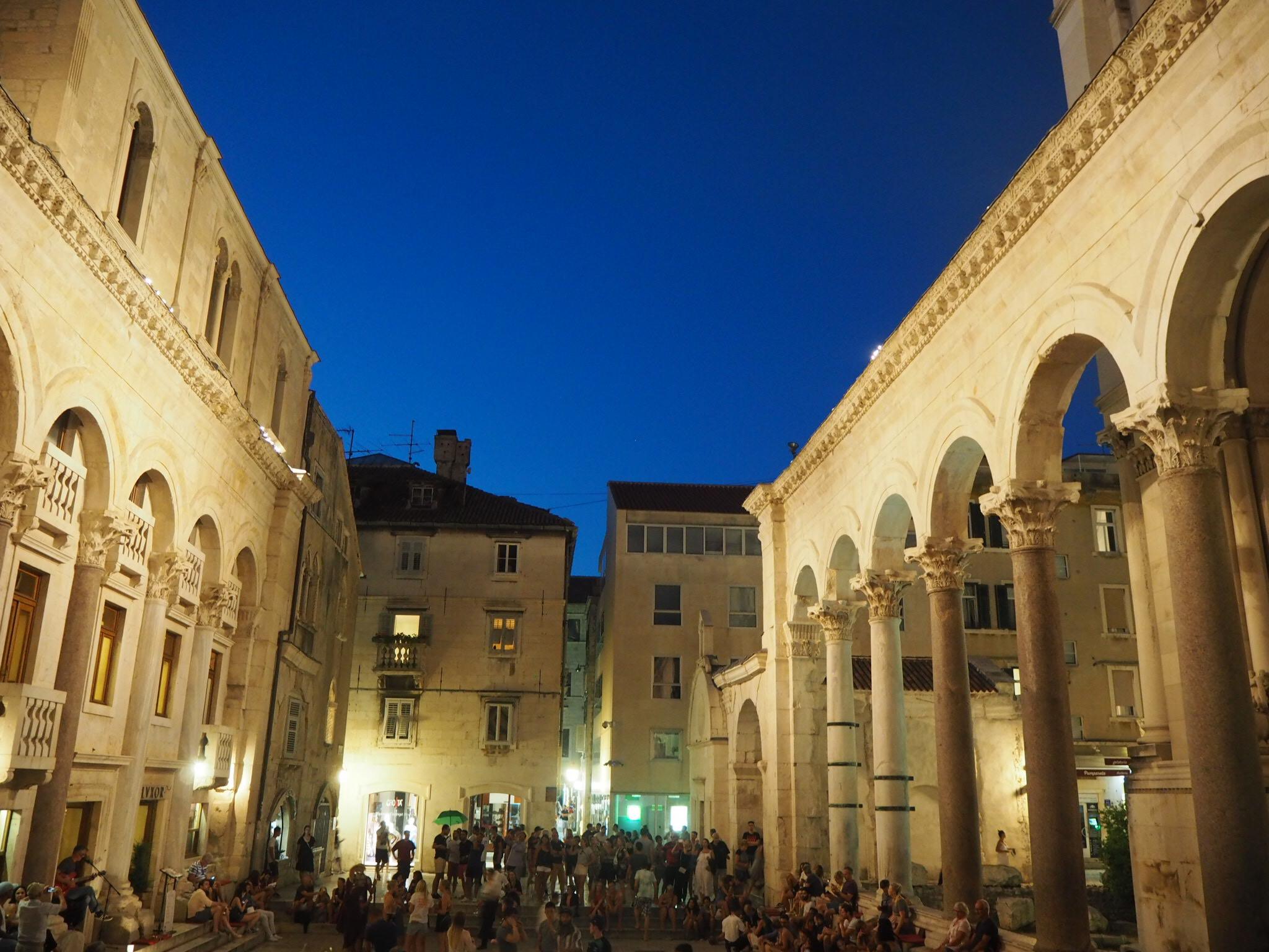 Split , en yrende historisk havneby!