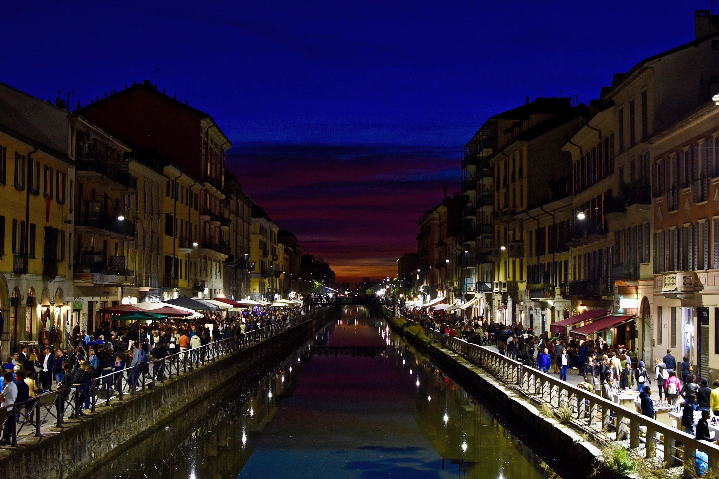 Smakebit av Milano!