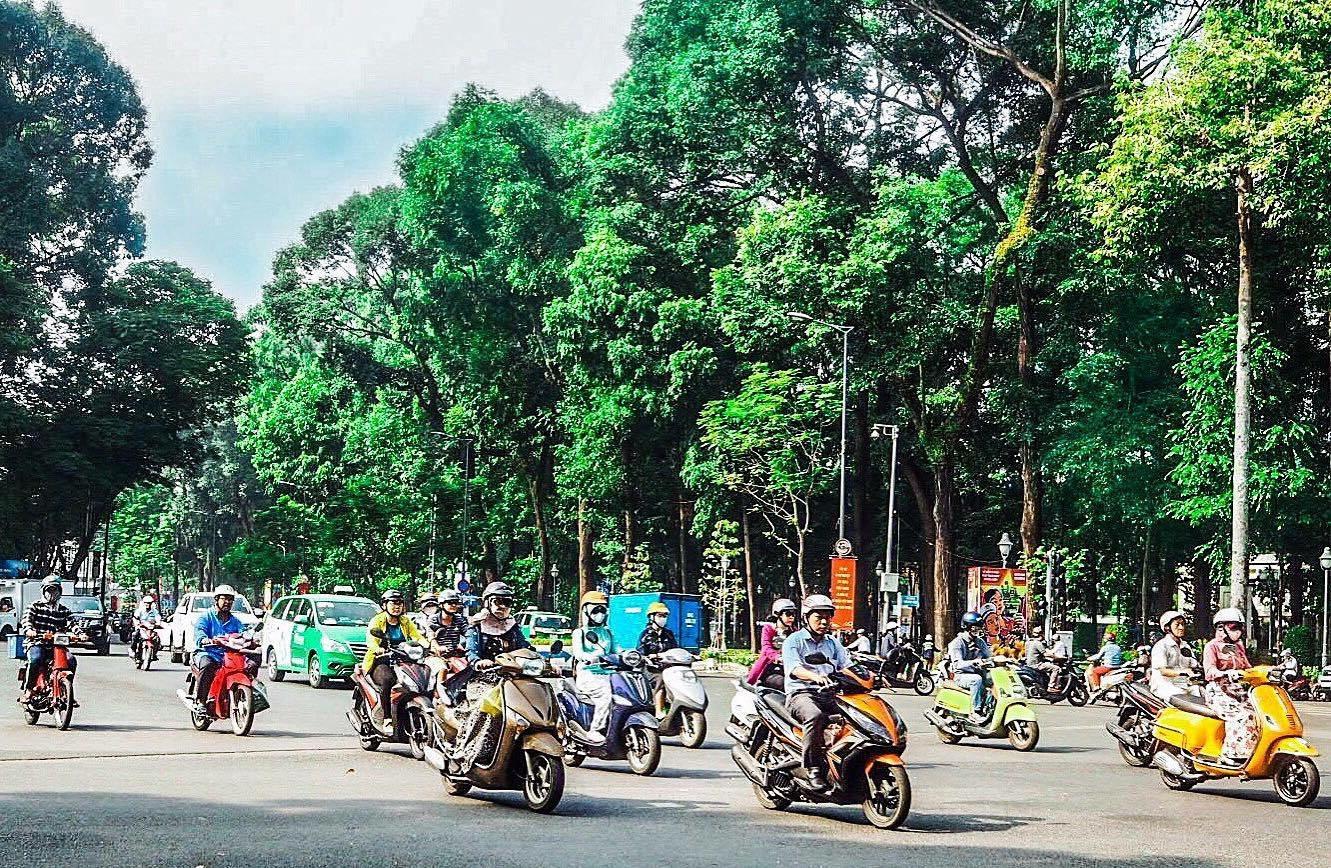 Fargerike Ho Chi Minh!