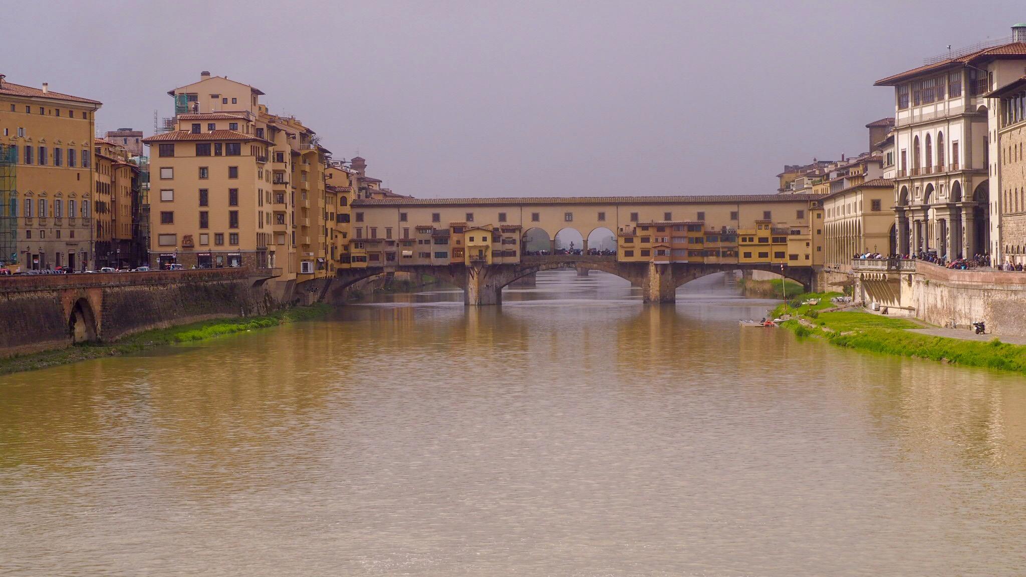 Ponte Vecchio ikke bare en bro!