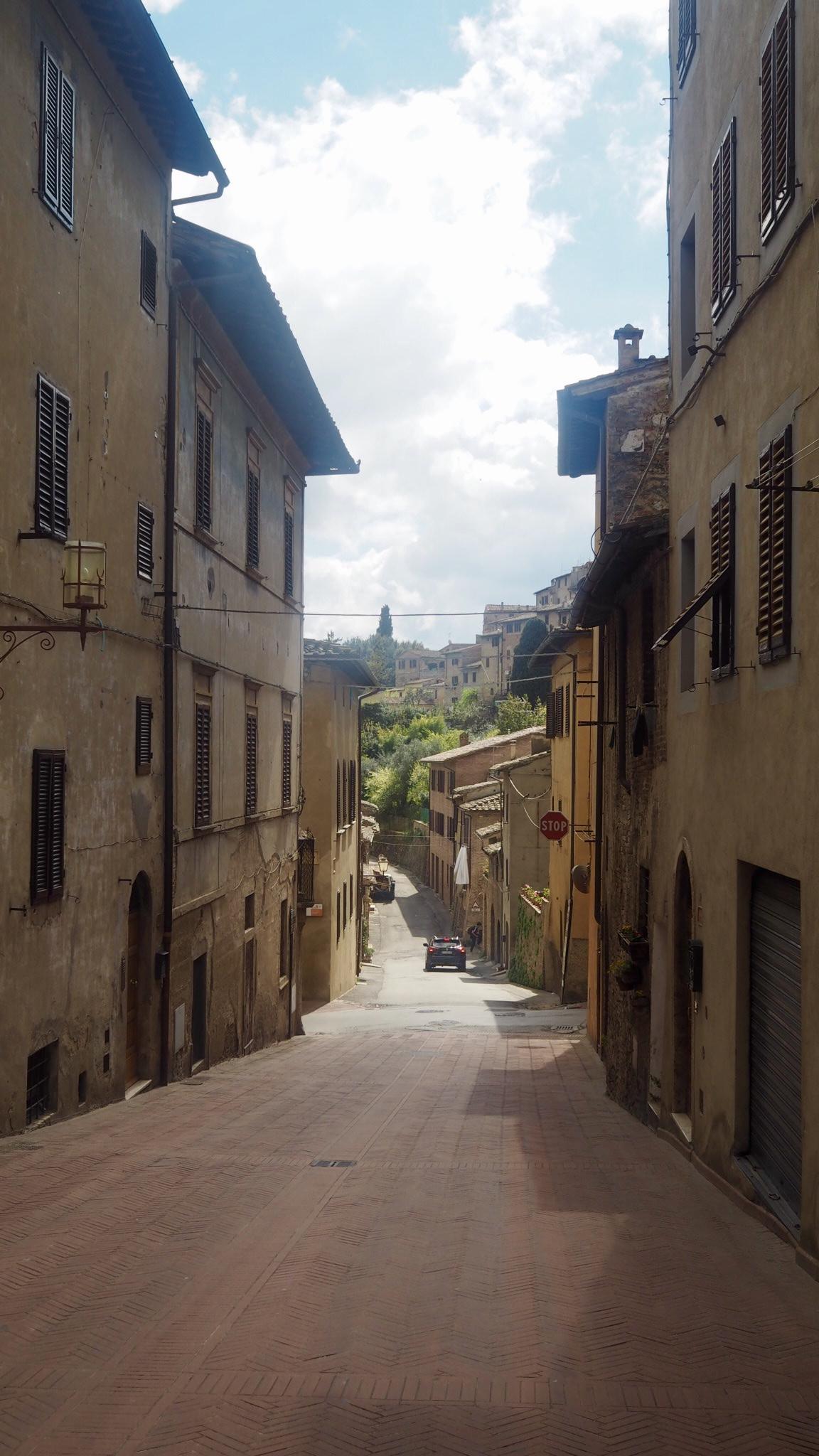 San Gimigano nok en Toscana perle!