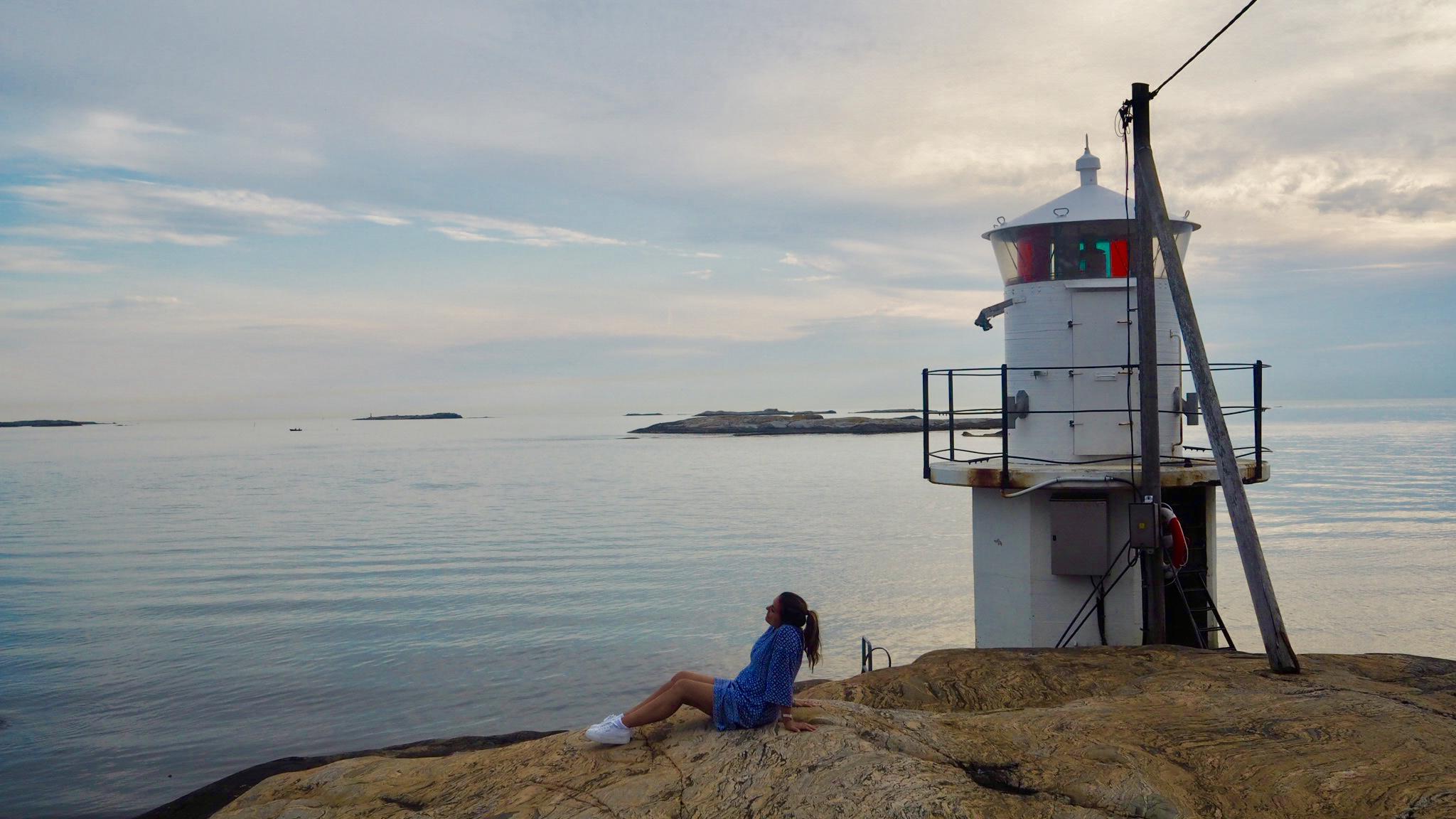 Båtluffa i Gøteborg skjærgården!