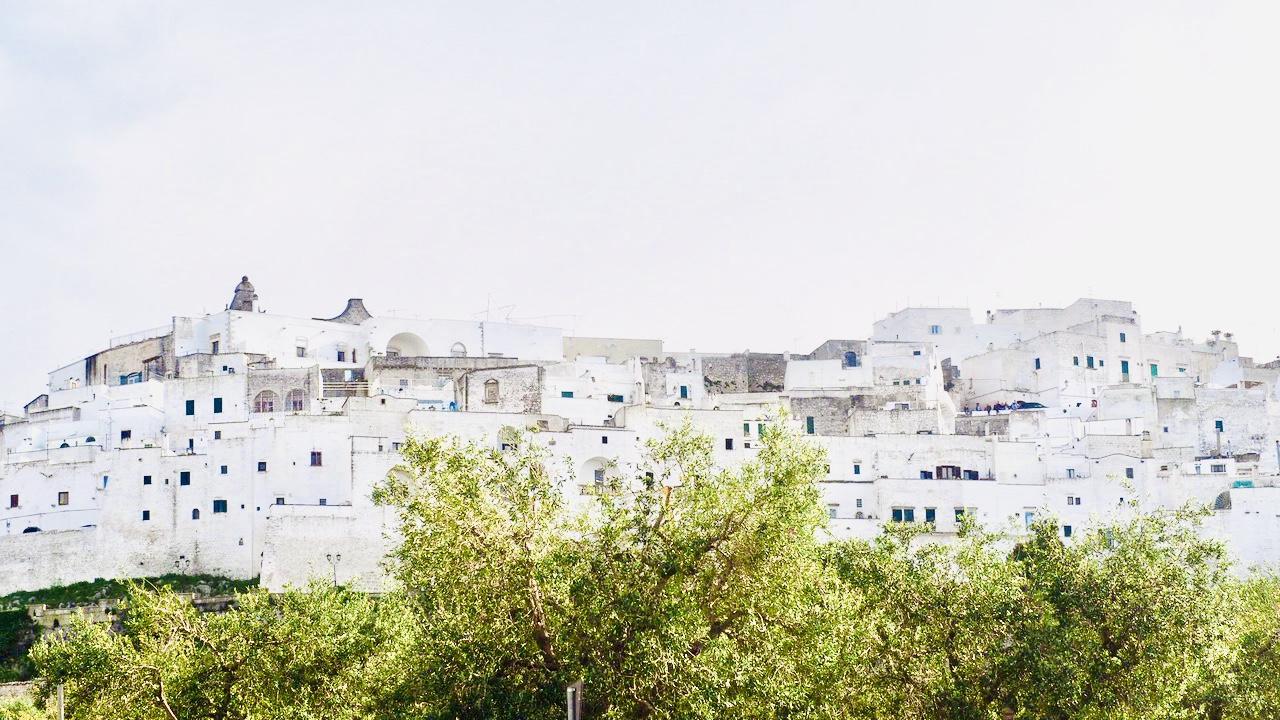 Ostuni «den hvite byen»