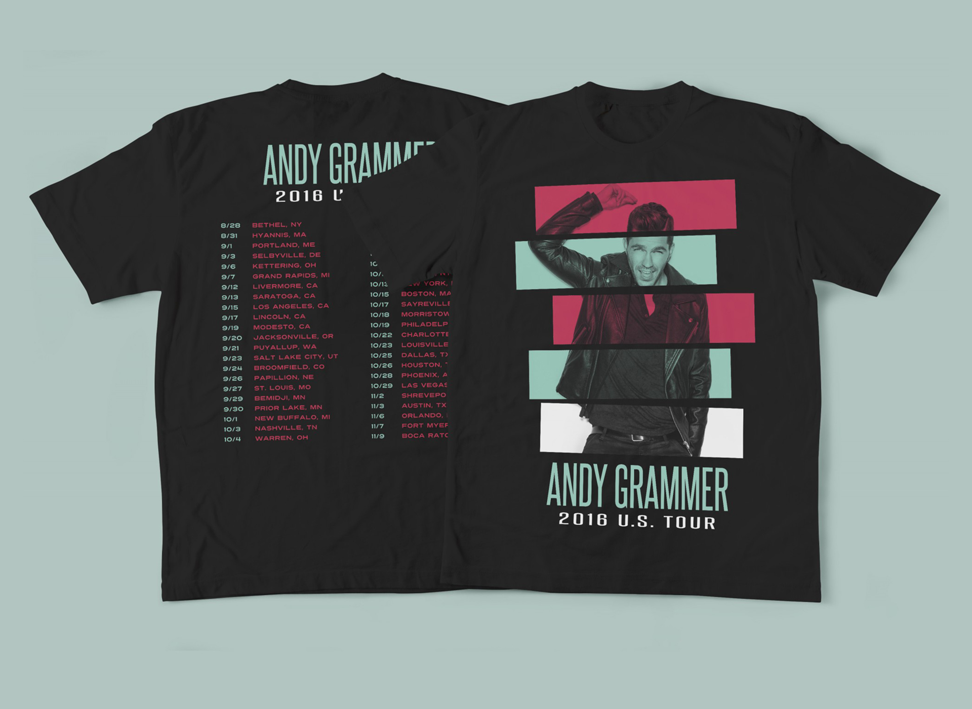 Andy Grammer 2016 Tour