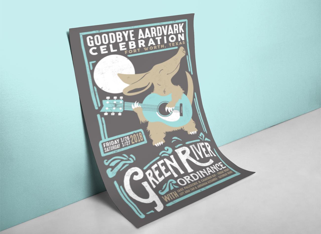 GRO Aardvark Poster