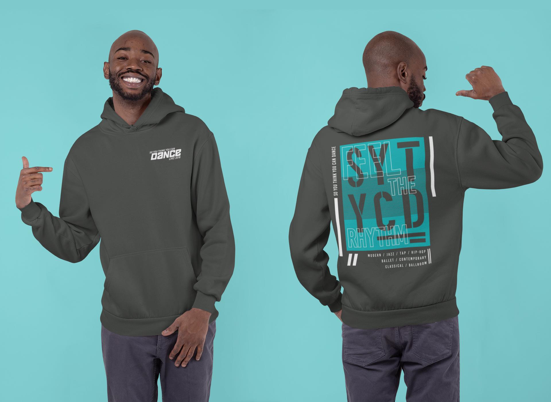 SYTYCD Feel The Rhythm Hoodies