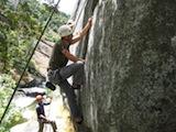 rock climbing at consumnes