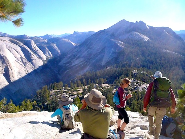 Hiking to Half Dome