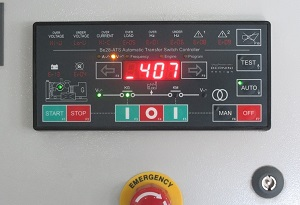 BE28 Automatic Transfer Switch Panel Tutorial