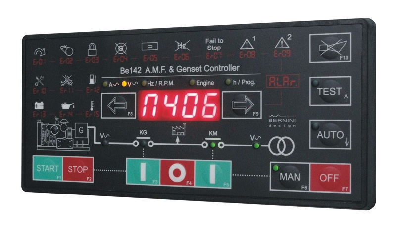 AMF Controller Be142 front fascia