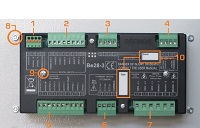 ATS controller rear view