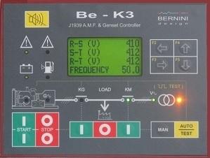beK3 generator remote start