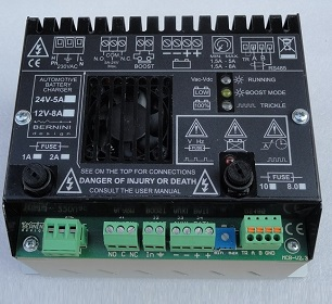 fire fighting system controller battery charger