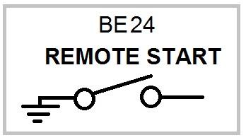 be24 generator remote start