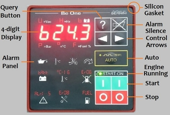 Generator Auto Start Front Panel Be1