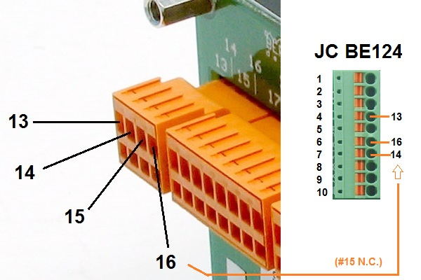 BE23 Sensor Connections