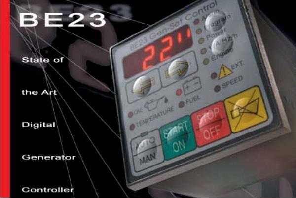 Replacing a Be23 generator controller